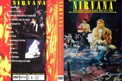 Nirvana - Unplugged & Uncut In New York 18.11.1993 - Cover