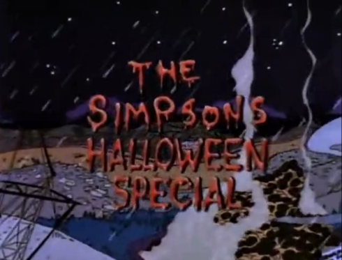 the simpsons halloween special I