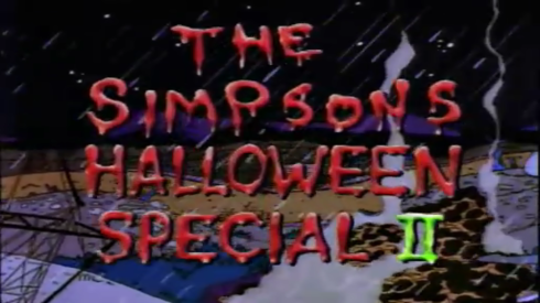 the simpsons halloween special II