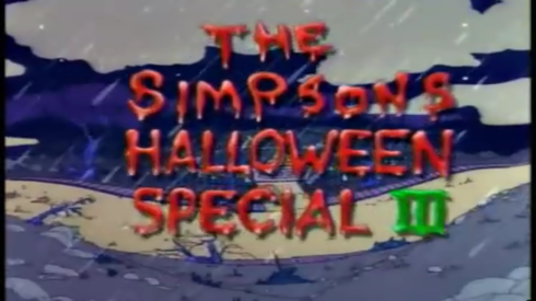 the simpsons halloween special III