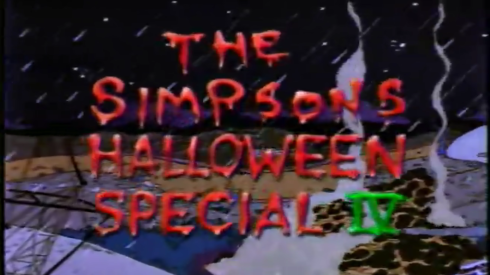 the simpsons halloween special IV