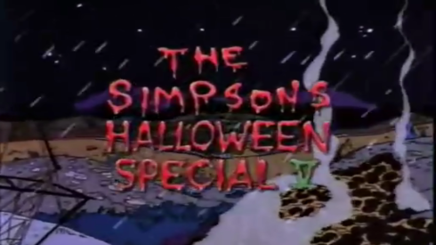 The Simpsons Halloween Special V