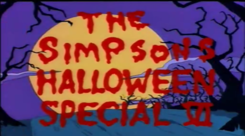 The Simpsons Halloween Special VI