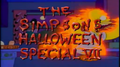 The Simpsons Halloween Special VII