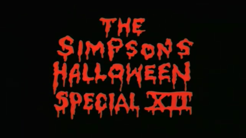 The Simpsons Halloween Special XII