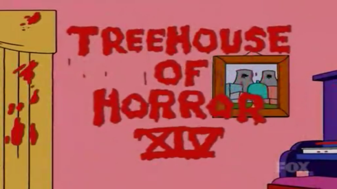 The Simpsons Treehouse of Horror 14